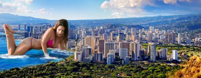 Katelyn_comes_ashore_in_Honolulu
