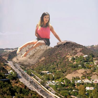 Katelyn_over_Sepulveda_Pass
