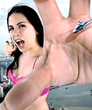 GIANTESS GODDESS KATELYN BROOKS