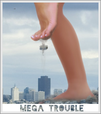 The Giantess Finds Her Toe Ring…