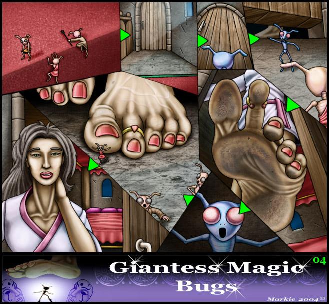 Giantess Magic Bugs 04 - Markie