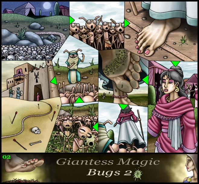 Giantess Magic Bugs 2 02 - Markie